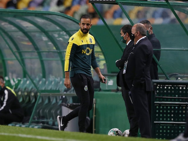 Sporting Lisbon manager Ruben Amorim pictured in October 2020