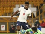 Ryan Sessegnon pictured for England Under-21s in October 2020
