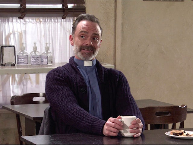 Billy on the first episode of Coronation Street on November 9, 2020