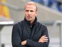 Hoffenheim head coach Sebastian Hoeness pictured on November 5, 2020