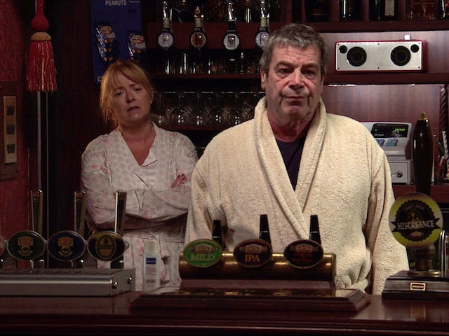 Jenny and Johnny on the first episode of Coronation Street on November 20, 2020