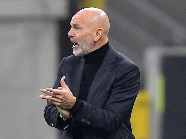 AC Milan manager Stefano Pioli pictured on November 5, 2020