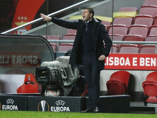 Steven Gerrard admits Aberdeen will