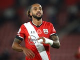 Theo Walcott in action for Southampton in November 2020