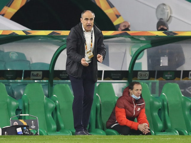 Sparta Prague head coach Vaclav Kotal pictured on November 5, 2020