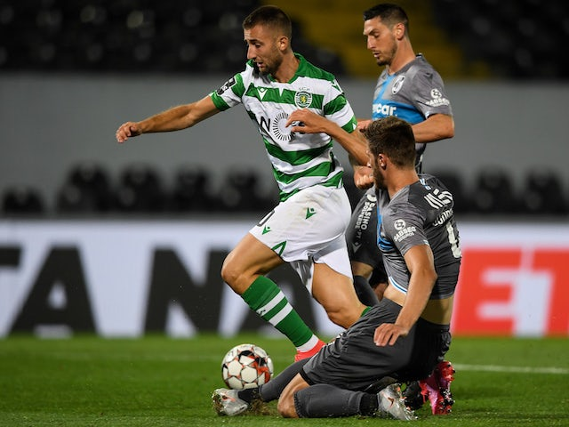 A general shot of Vitoria de Guimaraes vs. Sporting Lisbon in June 2020