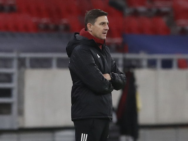 Serbia head coach Aleksandar Jankovic pictured on November 15, 2020