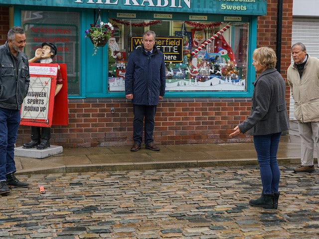 Sally and Dev on the second episode of Coronation Street on November 30, 2020