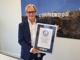 Bill Roache receives his Guinness World Records certificate