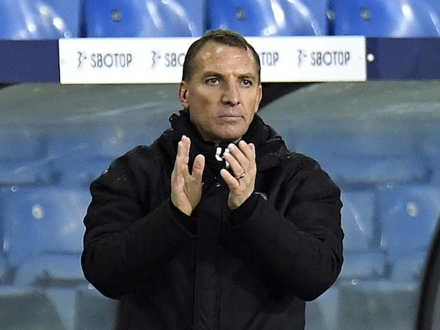 Leicester City manager Brendan Rodgers pictured in November 2020