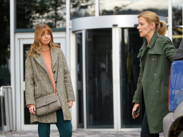 Leanne and Toyah on the second episode of Coronation Street on November 23, 2020