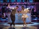 Clara Amfo and Aljaz Skorjanec on week four of Strictly Come Dancing on November 14, 2020