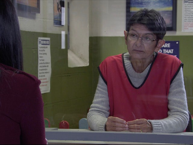 Yasmeen on the second episode of Coronation Street on November 23, 2020