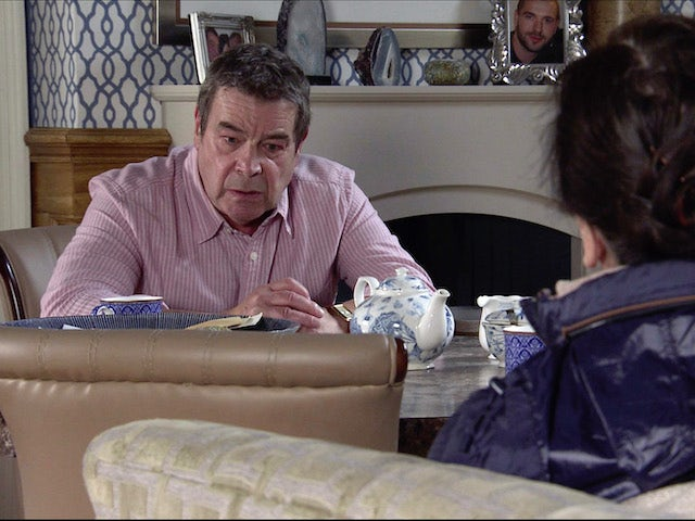 Johnny on the first episode of Coronation Street on November 25, 2020