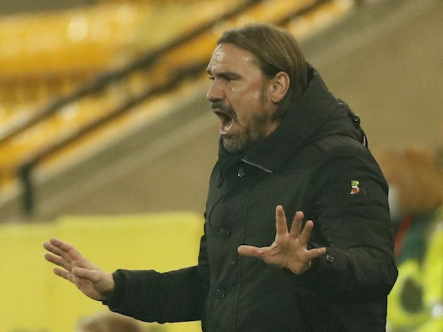Norwich City manager Daniel Farke pictured on November 7, 2020