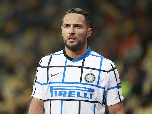 Inter Milan's Danilo D'Ambrosio pictured in October 2020