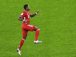 Bayern Munich defender David Alaba pictured on November 7, 2020