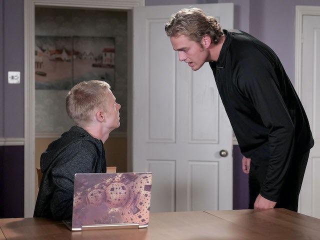 Bobby and Peter on EastEnders on November 24, 2020