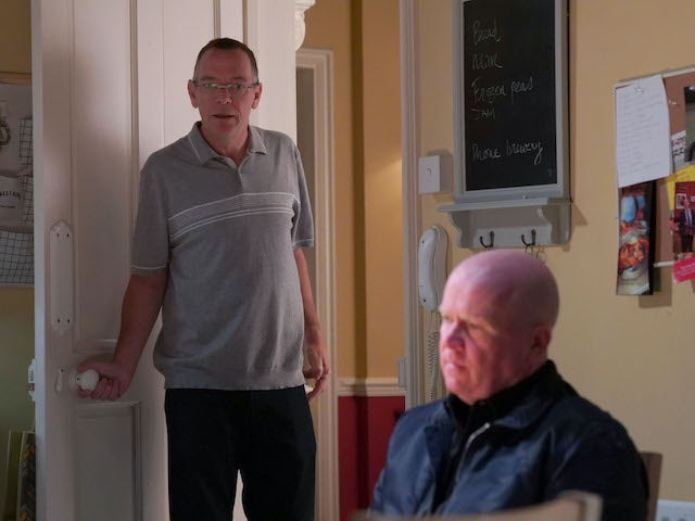 Ian and Phil on EastEnders on November 19, 2020