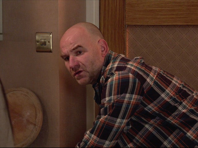Tim on the first episode of Coronation Street on November 27, 2020