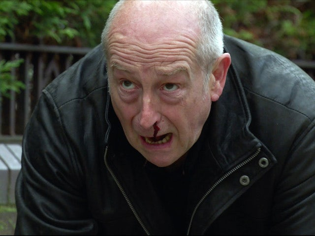 Geoff on the first episode of Coronation Street on November 30, 2020