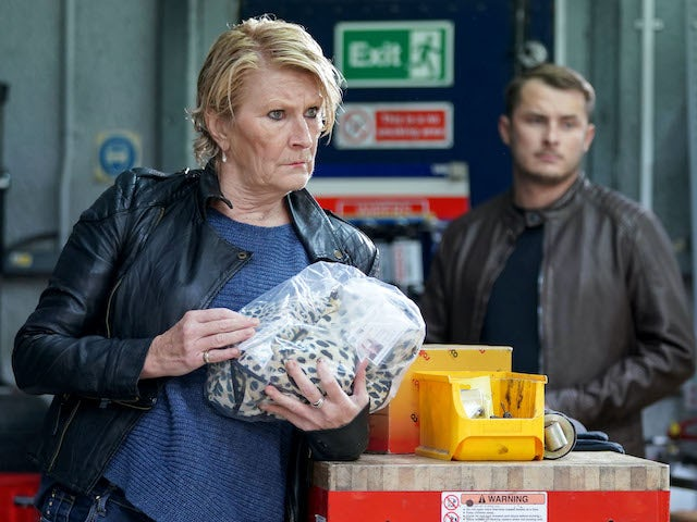Linda on EastEnders on November 16, 2020