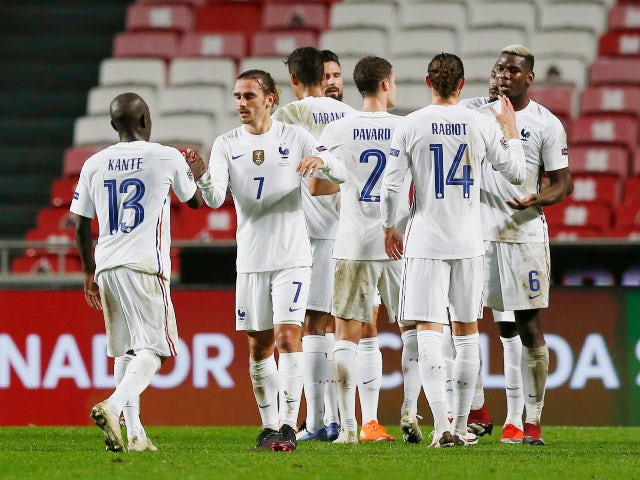 Nations League roundup: France qualify for finals, Spain held by Switzerland