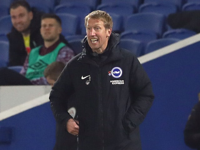 Premier League manager Graham Potter pictured in November 2020
