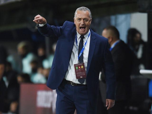 Ecuador manager Gustavo Alfaro pictured in October 2020