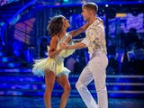 HRVY and Janette Manrara on week four of Strictly Come Dancing on November 14, 2020