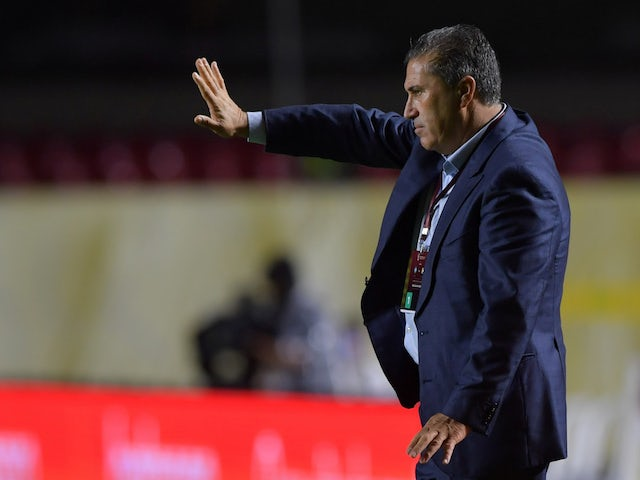 Venezuela head coach Jose Peseiro pictured on November 14, 2020