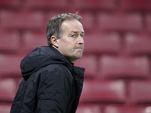 Denmark manager Kasper Hjulmand pictured on November 15, 2020