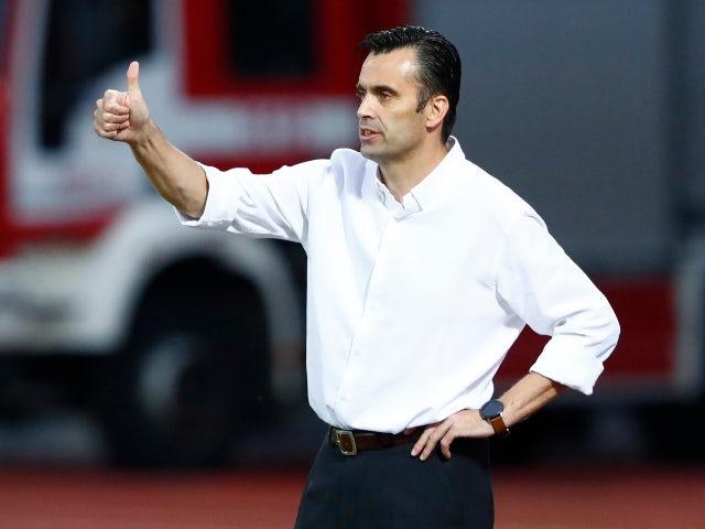Andorra manager Koldo Alvarez pictured in September 2020