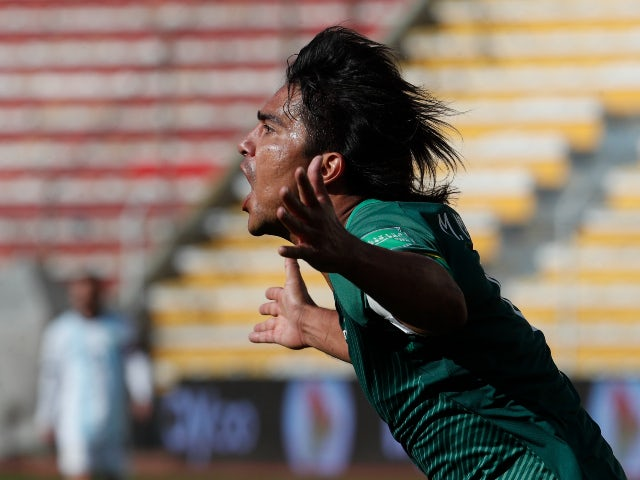 Bolivia forward Marcelo Martins pictured in October 2020