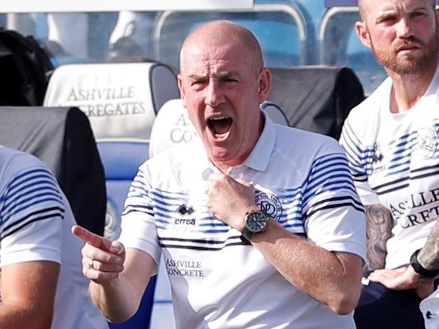 Queens Park Rangers manager Mark Warburton pictured in September 2020