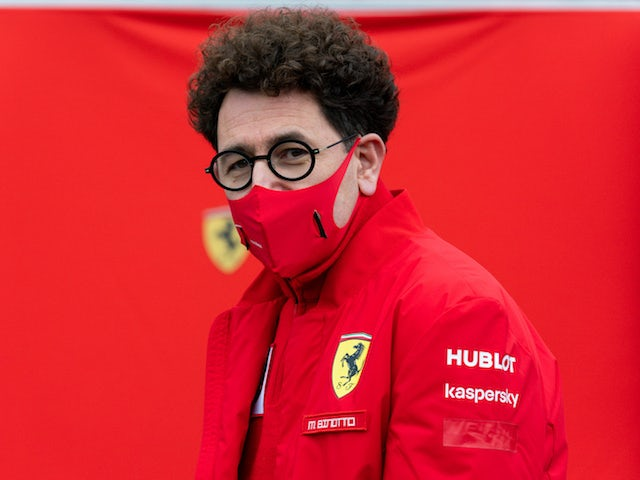 Ferrari's Mattia Binotto pictured in August 2020