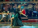 Max George and Dianne Buswell on week four of Strictly Come Dancing on November 14, 2020