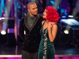 EMBARGO: Max George and Dianne Buswell on Strictly Come Dancing's results show on November 15, 2020