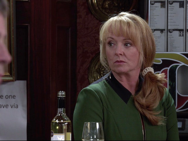 Jenny on the second episode of Coronation Street on November 27, 2020