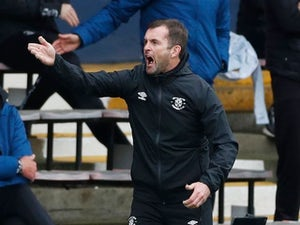 "Nathan Jones ""emotional"" at reaction of Luton supporters"