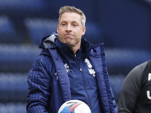 Cardiff City manager Neil Harris pictured in October 2020