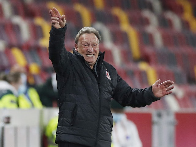 Middlesbrough manager Neil Warnock pictured on November 7, 2020