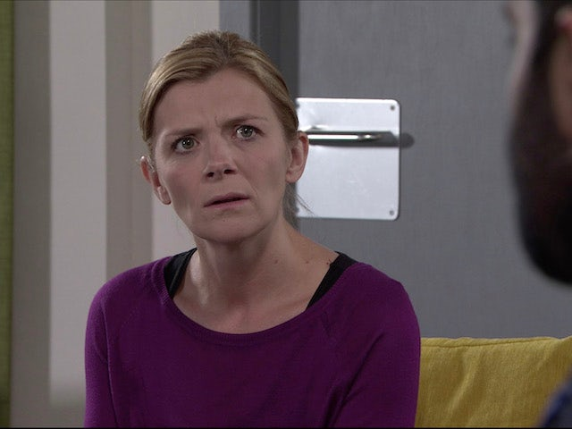 Leanne on the first episode of Coronation Street on November 23, 2020