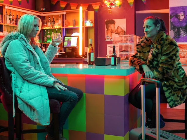 Kathy and Tina on EastEnders on November 17, 2020