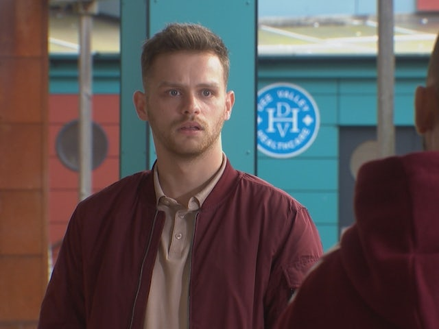Jordan on Hollyoaks on November 16, 2020