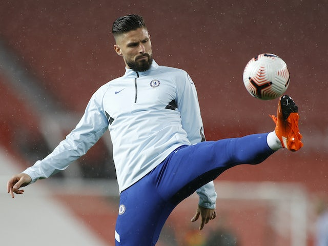 Report: Giroud ready to leave Chelsea in January