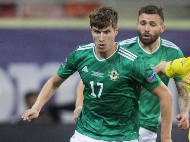 Paddy McNair pictured for Northern Ireland in September 2020