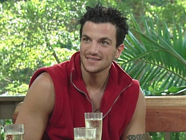 Peter Andre on I'm A Celebrity