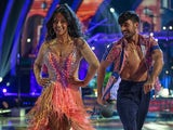 Ranvir Singh and Giovanni Pernice on week four of Strictly Come Dancing on November 14, 2020