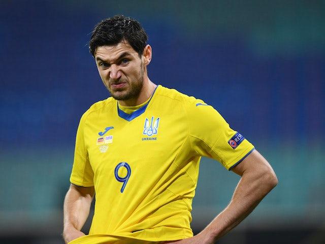 Ukraine's Roman Yaremchuk pictured on November 14, 2020